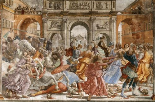 Slaughter of the Innocents by Domenico Ghirlandaio