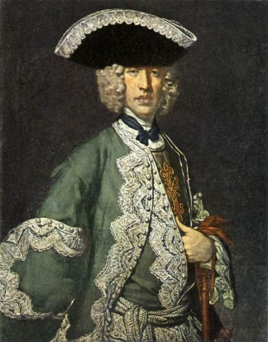 Portrait of a Gentleman by Vittore Ghislandi