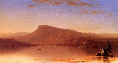 In the Wilderness, Twilight by Sanford Robinson Gifford