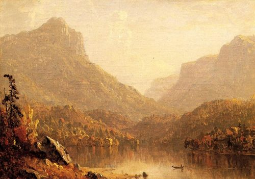 Lake Scene by Sanford Robinson Gifford