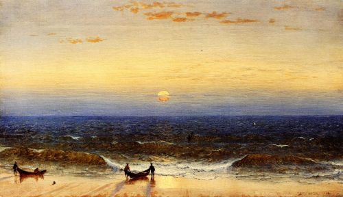 Sunrise, Long Branch, New Jersey by Sanford Robinson Gifford