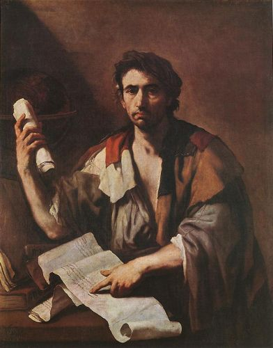 A Cynical Philospher by Luca Giordano