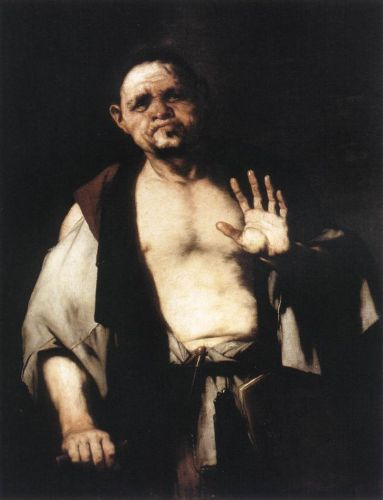 The Philosopher Cratetes by Luca Giordano