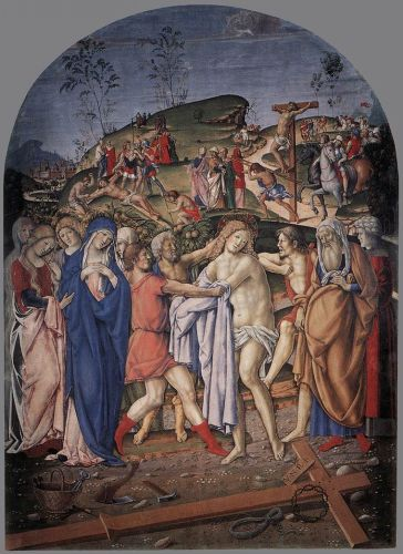 The Disrobing of Christ by Francesco di Giorgio Martini