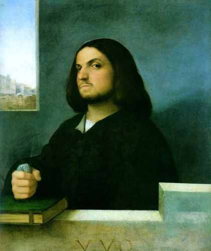 Portrait of an Gentleman by Giorgione