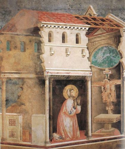 Legend of St Francis: 4. Miracle of the Crucifix by Giotto