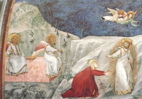 Scenes from the Life of Mary Magdalen - Noli me tangere by Giotto