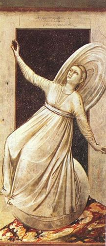 The Seven Vices - Inconstancy by Giotto