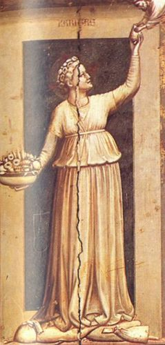 The Seven Virtues - Charity by Giotto