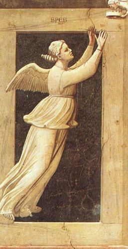 The Seven Virtues - Hope by Giotto