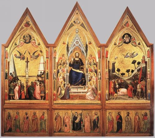 The Stefaneschi Triptych by Giotto