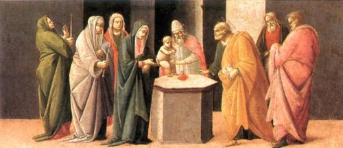 Predella: Presentation at the Temple by Bartolomeo di Giovanni