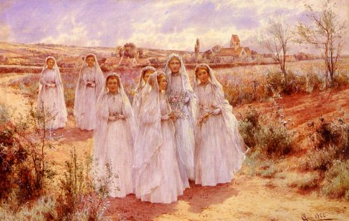 Returning From Confirmation by Alfred Glendening