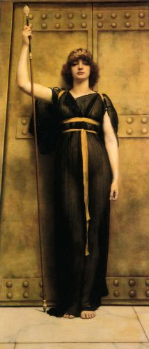 A Priestess by John William Godward