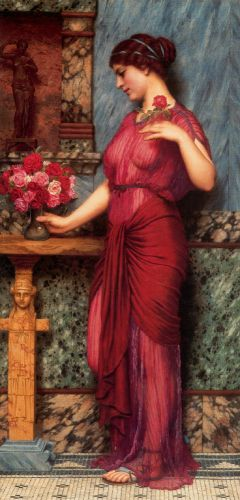 An Offering to Venus by John William Godward