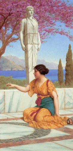 Ancient Pastimes by John William Godward
