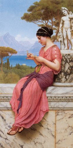 The Love Letter by John William Godward
