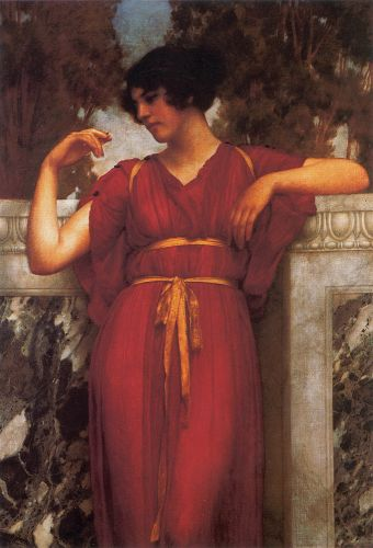 The Ring by John William Godward