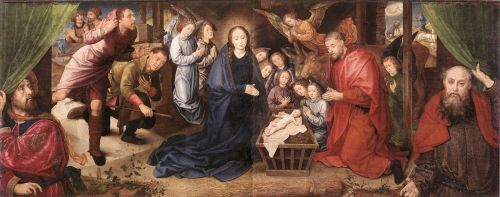 Adoration of the Shepherds by Hugo van der Goes