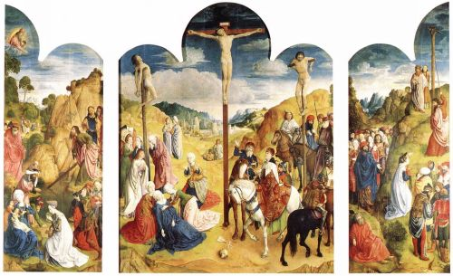 Calvary Triptych by Hugo van der Goes