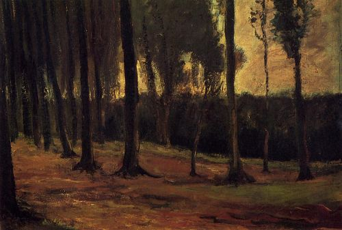 Edge of a Wood by Vincent van Gogh
