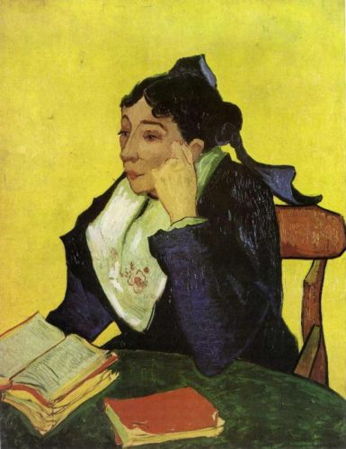 L'Arlesien: Madame Ginoux with Books by Vincent van Gogh