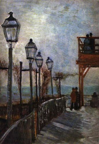Montmartre Near the Upper Mill by Vincent van Gogh