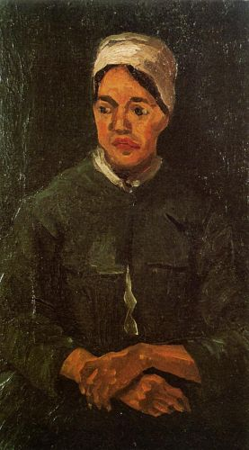 Peasant Woman, Seated by Vincent van Gogh