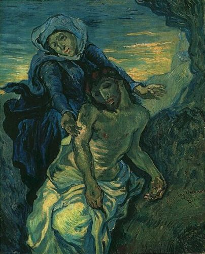Pietà by Vincent van Gogh