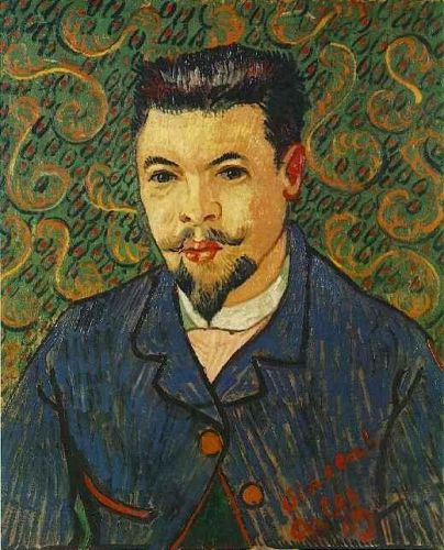 Portrait of Doctor Felix Rey by Vincent van Gogh