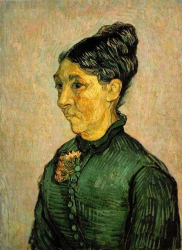 Portrait of Madame Trabuc by Vincent van Gogh