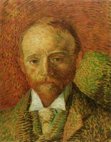 Portrait of the Art Dealer Alexander Reid by Vincent van Gogh