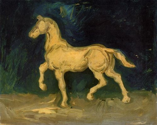 Statuette of a Horse by Vincent van Gogh