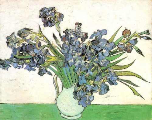 Still Life: Vase with Irises by Vincent van Gogh