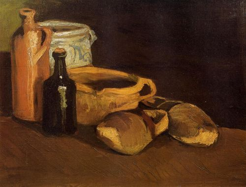 Still Life with Clogs and Pots by Vincent van Gogh