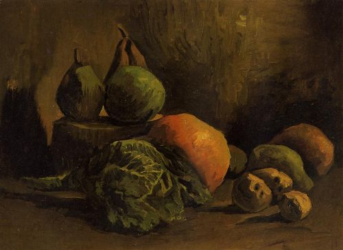 Still Life with Vegetables and Fruit by Vincent van Gogh