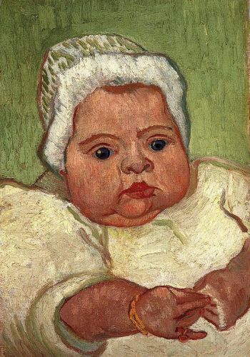 The Baby Marcelle Roulin by Vincent van Gogh