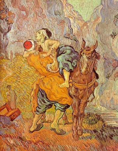 The Good Samaritan by Vincent van Gogh