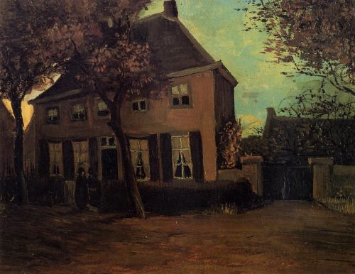 The Parsonage at Nuenen by Vincent van Gogh