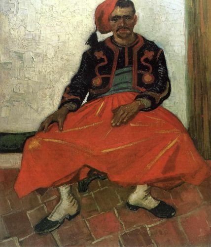 The Seated Zouave by Vincent van Gogh