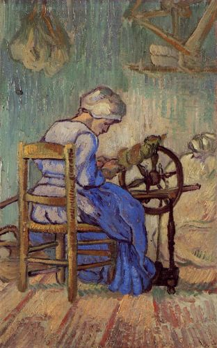 The Spinner by Vincent van Gogh