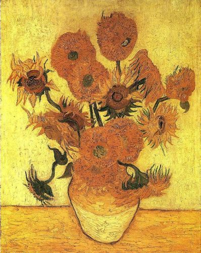 The Sunflowers by Vincent van Gogh