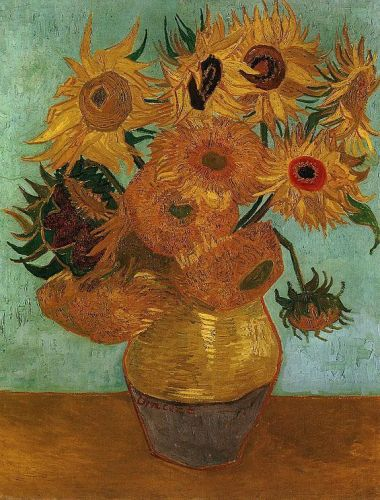 The Sunflowers, 1888 by Vincent van Gogh