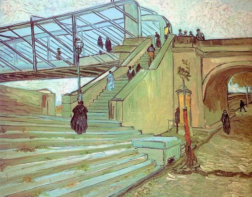 The Trinquetaille Bridge by Vincent van Gogh