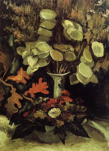 Vase with Honesty by Vincent van Gogh