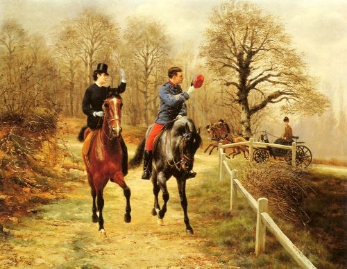 An Afternoon Ride by Richard Goubie