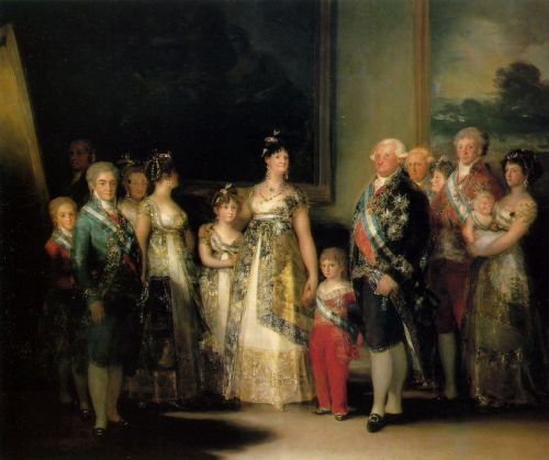 Family of Carlos IV by Francisco Goya
