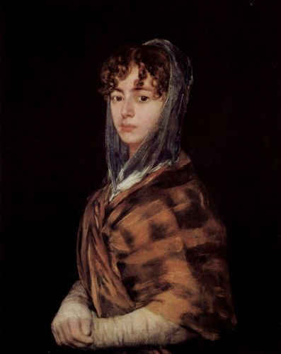 Francisca Sabasa  Garcia by Francisco Goya