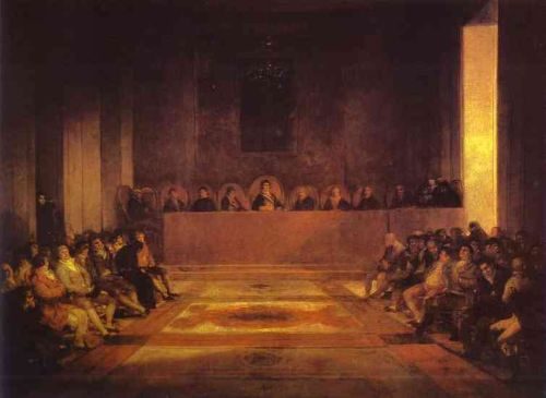 Junta of the Philippines by Francisco Goya