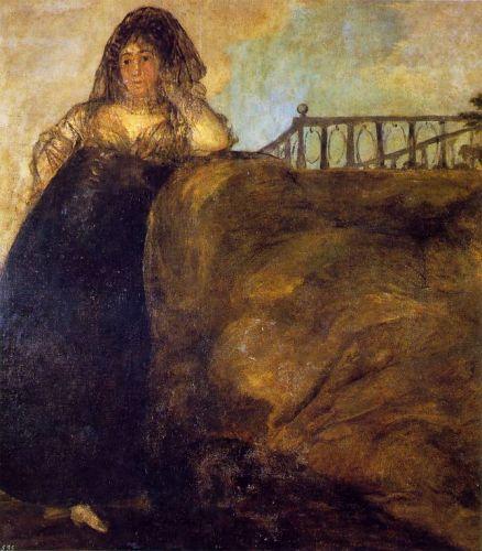 Leocadia by Francisco Goya